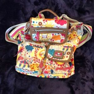 Lily Bloom Backpack EUC No Stains Inside or Out.
